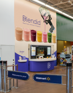 Blendid opens at Walmart Fremont